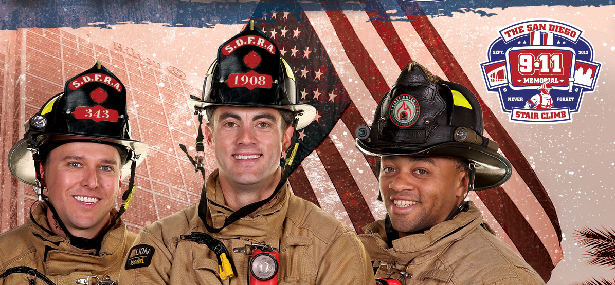 Image: San Diego Firefighter Stair Climb - Saturday September 9th 2017
