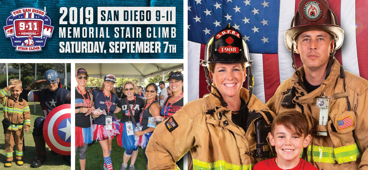 Image: San Diego Firefighter Stair Climb - Saturday September 7th 2019