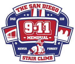 Image: San Diego Firefighter Stair Climb 2016 Logo